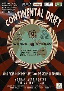 Continetal Drift Poster V3